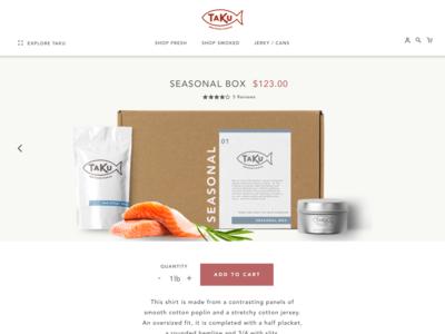 Taku Store Product Page