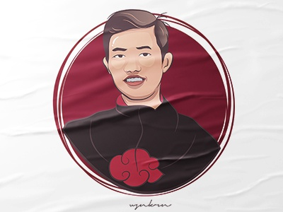 Fan Art | Vector fanart design trending simple vector illustration