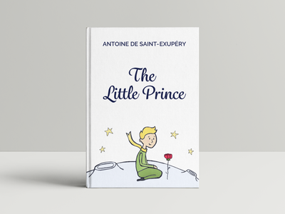 The Little Prince Book Cover drawing illustration book cover
