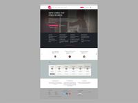teamup homepage redesign