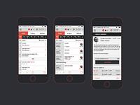 Calendar Mobile view V1.5