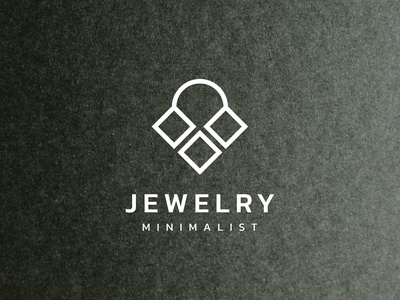 Jewelry simple logo design
