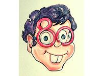 Cartoon character UNMAD