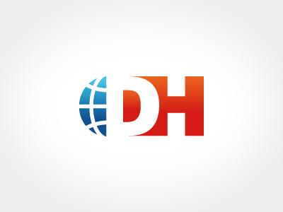 Logo Domainhandel.at logo signet globe domains domainhandel.at austria