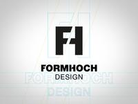 Logo Concept Formhoch Design
