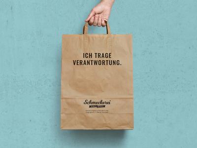 Schmeckerei Paper Bag superfesch austria branddesign branding packagedesign paperbag