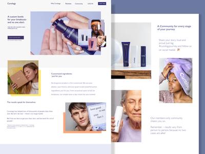 Curology Website