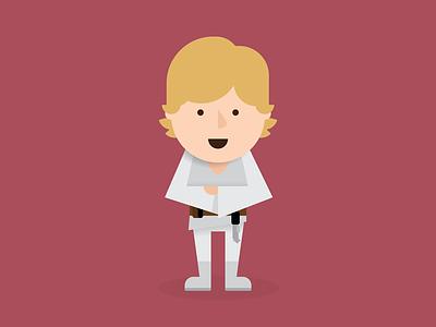Luke Skywalker luke skywalker star wars skywalker luke illustration vector