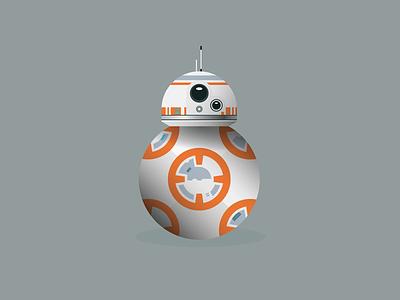 BB-8 star wars bb-8 illustration vector