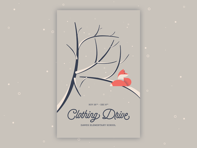 Clothing Drive 2016 sprout social holiday holiday drive