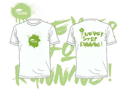 B2RUN T-shirt design marathon apparel motivational white clothes sport run shirt tshirt t-shirt