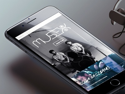 ::: Muse-X ™ :::  mobile website bootstrap video usability ux ui smartphone iphone responsive muse music