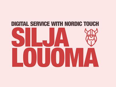 Testing a new logo advertising sweden illustration seo sem finland vikings scandinavian scandinavia logo design