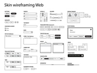 Web Wireframing components