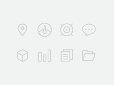 Icon Set icons icon set location icon dashboard icon tracking icon message icon inventory icon reports icon documents icon folder icon