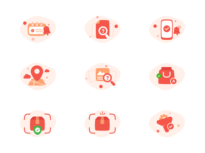 Bartr Illusration Set 01 ai illustrator icons onboarding ui vietnam grraphic icon illustration