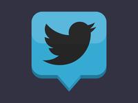 TweetDeck Flat Icon