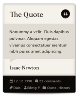 The Quote - Isaac Newton