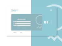 001 Sign Up page UI design challenge.