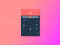 #0004 Calculator UI design Challenge
