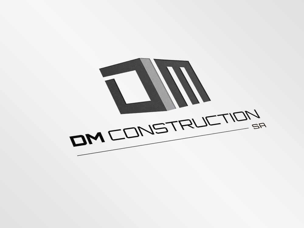 Dm Construction Logo