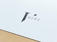 VIVI / personal logo concept