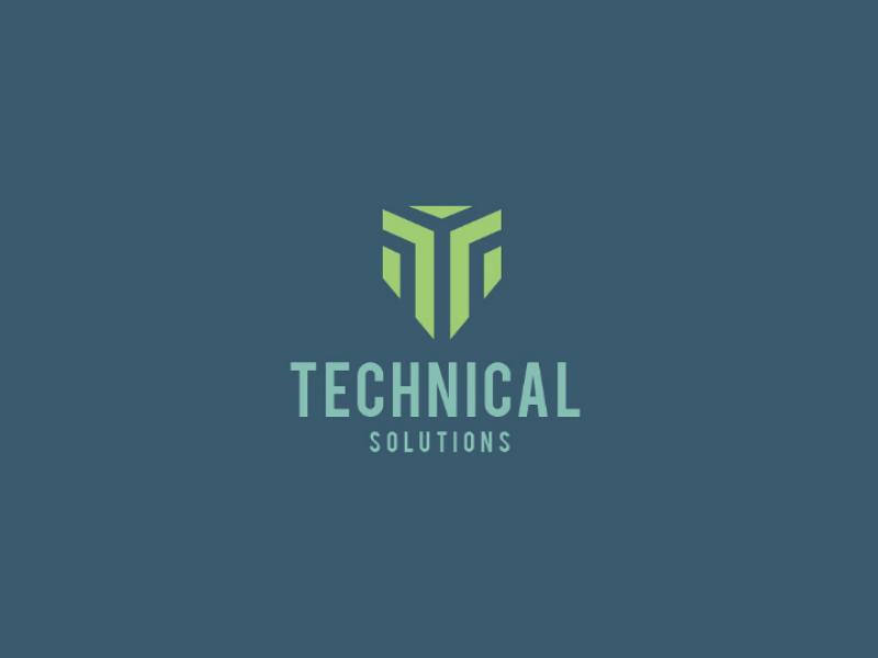 Technology Logo Concept technology logo abstract graphic design logo