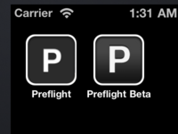 Updated Preflight icon