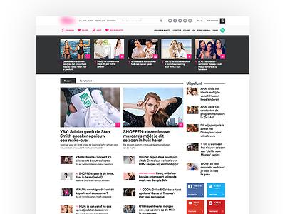 Online Women's Magazine buzz clean blog magazine