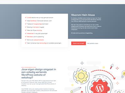 new website coming up soon design responsive website wordpress minimal ux clean ui