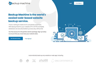 Rejected project backup design illustration website minimal ux clean ui