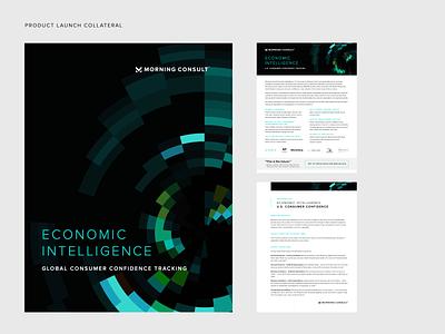 Economic Product Launch 2020 branding dark reports and data cover corporate design data report economy