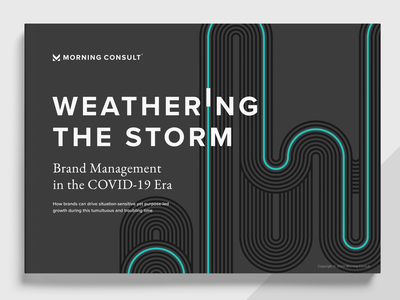 Weathering The Storm Report Design table table design charts data design report design marketing campaign marketing branding layout report