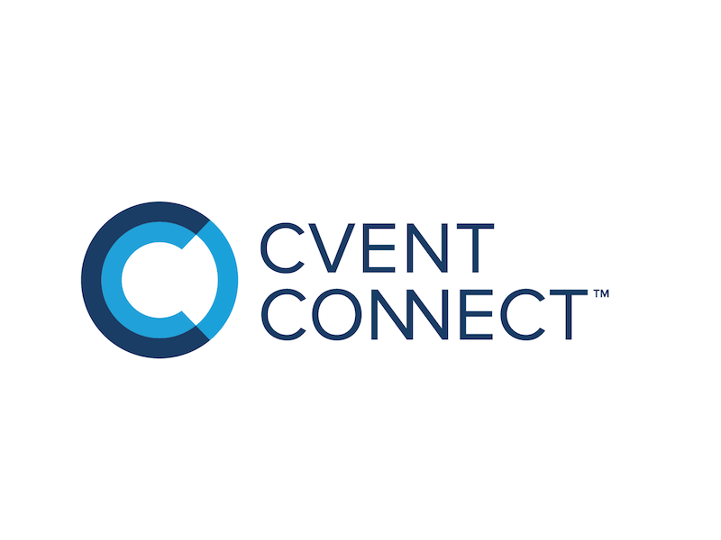 Cvent Connect Logo conference branding abstract lines shapes concepts