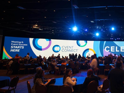 Cvent CONNECT 2015 Screen Design