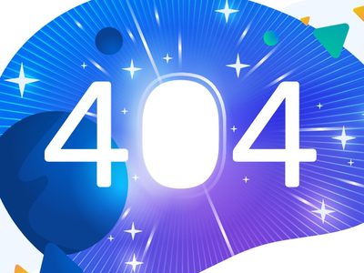New 404 illustration ui space illustration 404 error