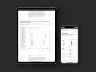 Interactive Healthcare Data Table