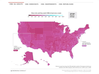 Media Consumption Interactive Maps