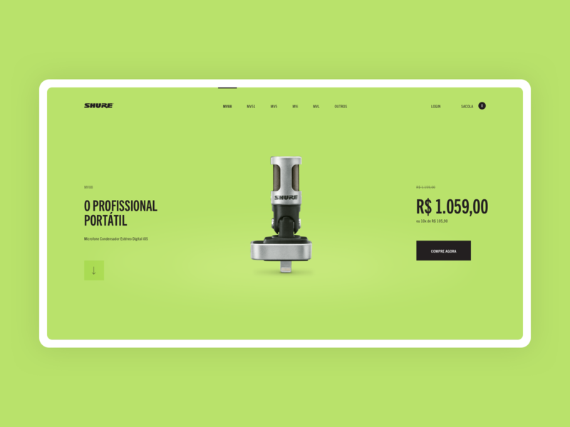 Shure Motiv - Product Page