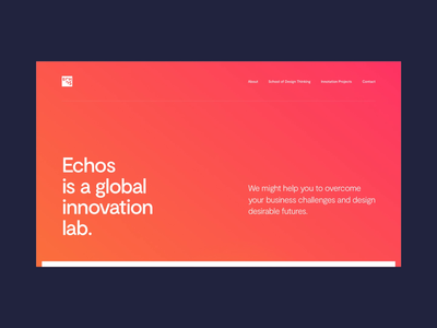 Echos Innovation Lab