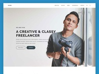 Freelancer One Page Scroll - Vivid Theme