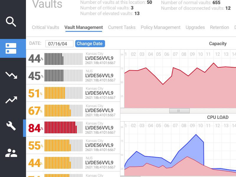 Vault Management by slandry | Dribbble | Dribbble