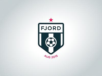 Fjord Rumble™ Logo debut vector logo soccer