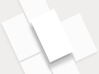 No-Device Mobile Mockup Templates
