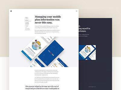 It's alive! website case study product design webflow mockups mobile portfolio
