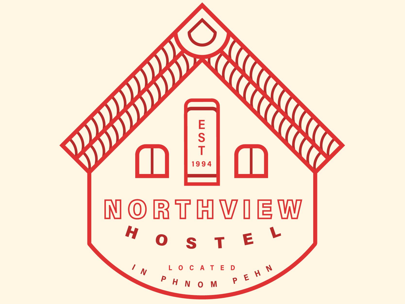 Hostel identity logo dribbble