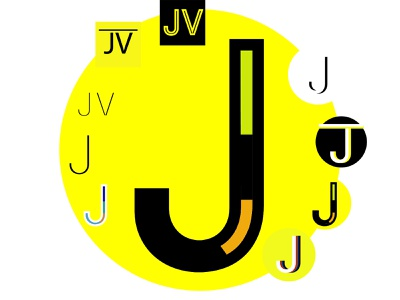 J's Search for a Perfect Favicon! j flat website minimal web icon typography illustration design firstshot first post