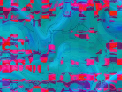 Nightmare Geo colorful digital geometric geo surface pattern surfacedesign spd