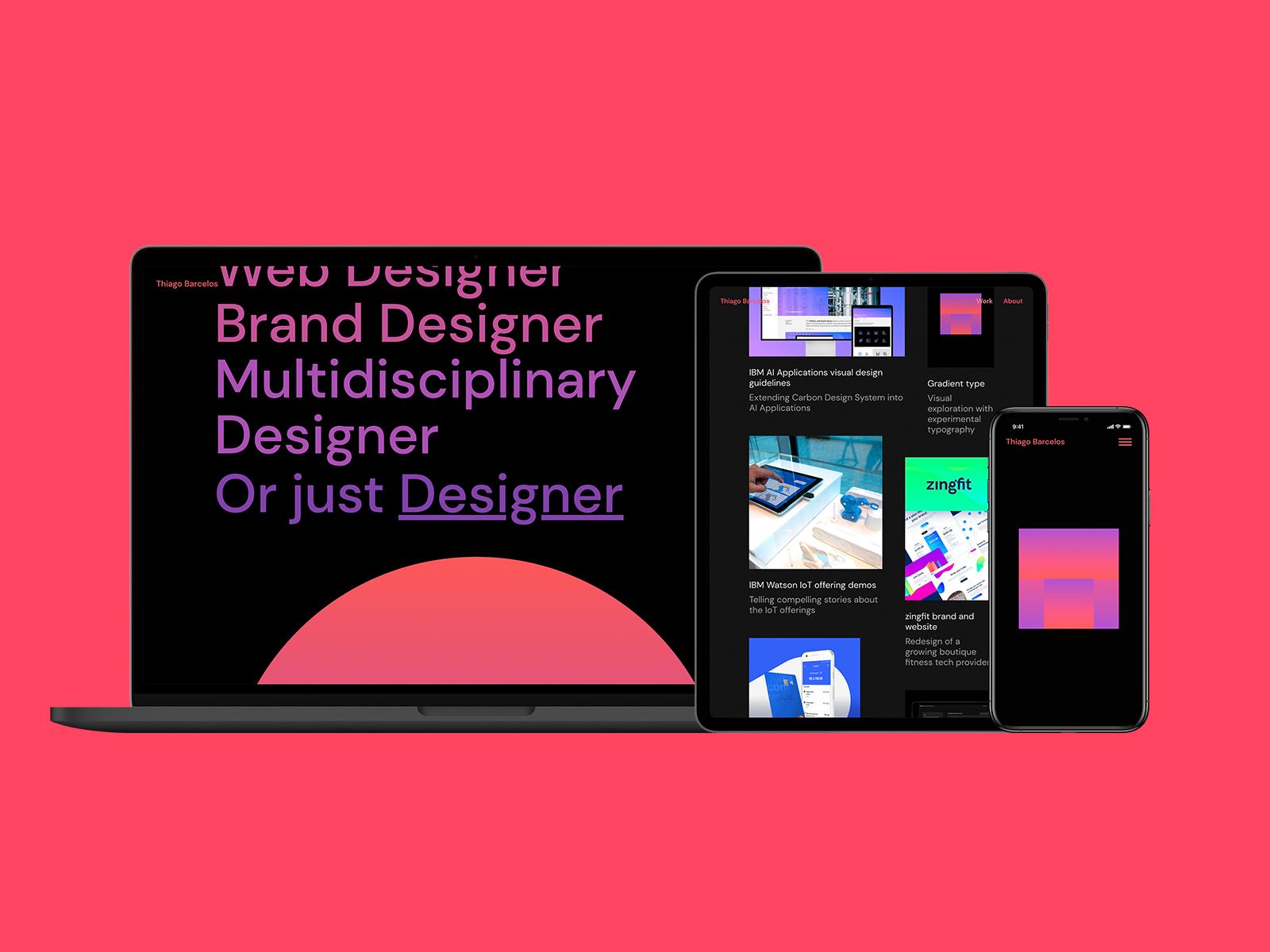 Design Portfolio - thiagobarcelos.com