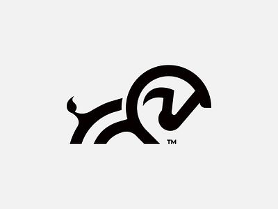 Tiny Zebra Mark. illustration. branding logo mark